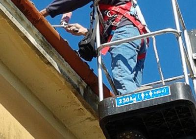 lavori in altezza cantieri edili Trieste